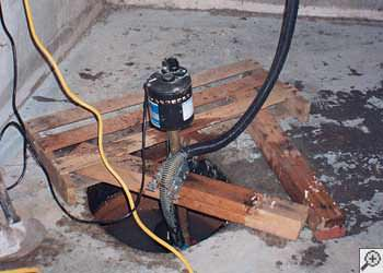 A North Ridgeville sump pump system that failed and lead to a basement flood.